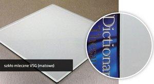 SteelART Szkło mleczne VSG (matowe)